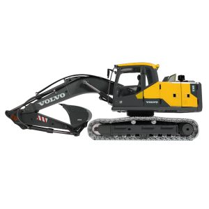Volvo EC160E Crawler Excavator Full Metal RC Hydraulic-Volvo-Construction Equipment Full Function Radio Remote Control Hobby Scale Model