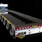 Broshuis Michelin 2+5 rc Fury Bear Tamiya scale 1/14 low loader